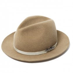 [ RUDE GALLERY ] ウールスウェードハット / WOOL SUEDE HAT - STETSON COLLABORATION (Light Beige)