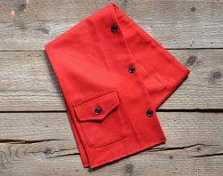 [ ROLL ] ウールスカーフ /WOOL SCALF (red)
