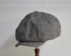 [ ROLL ] ワーキングクラスツイードキャップ /Working class tweed cap (gray)