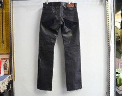 [ lost control ] ホースハイド5Pパンツ / Horse Hide 5P Pants (black)