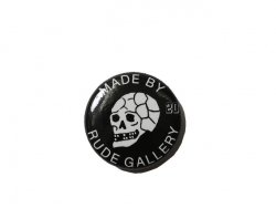 [ RUDE GALLERY ] カンバッジ -20スカル- / CAN BADGE -20SKULL-