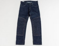 [ GERUGA ] パデッドデニムパンツ / PADDED DENIM PANTS [ indigo RIGID]