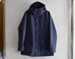 [ lost control ] フードフィールドジャケット / Hooded Field Jacket -3layer- (navy)
