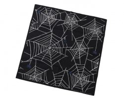 [ RUDE GALLERY BLACK REBEL ] スパイダーバンダナ / SPIDER NET BANDANA
