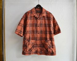 [ EGO TRIPPING ] スウェイチェックシャツ / SWAY CHECK SHIRTS