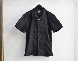 [ LOST CONTROL ] オープンカラータックシャツ / OPEN COLLAR TACC SS SHIRTS