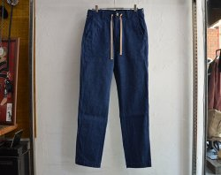 [ lost control ] イージーパンツ / Easy Pants -denim -