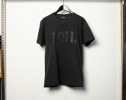 [ ROLL ] カレッジロゴTシャツ / College Logo T-Shirts (charcoal)