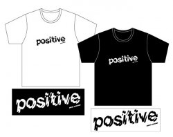 [ messaround ] positive T-shirts &sticker set