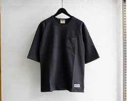 [ LOST CONTROL ]  ハーフレングススリーブヘビーTシャツ/Half-Lengths Sleeve Heavy Tee(black)
