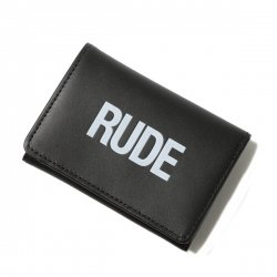 [ RUDE GALLERY ] ルードミニウォレット / RUDE MINI WALLET (bk)