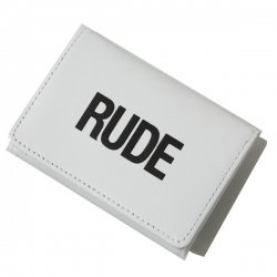 [ RUDE GALLERY ] ルードミニウォレット / RUDE MINI WALLET (wh)