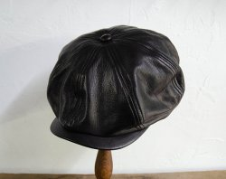 [ RUDE GALLERY ] レザーキャスケット / LEATHER CASQUETTE