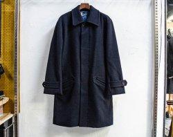 [ LOST CONTROL ] ダブルヘリンボーンウールコート / W Herringbone Wool Coat