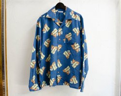 [ GAVIAL ] ロングスリーブオープンカラーシャツ / l/s open coller shirts