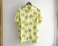 [ GAVIAL ] ショートスリーブオープンカラーシャツ / s/s open coller shirts