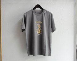 [ GERUGA ]  サマーコットンTシャツ / SUMMER COTTON TEE -FUNNY DRAGON-