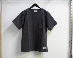 [ LOST CONTROL ] フラットヘビーTシャツ / Flat Neck Heavy SS Tee(black)