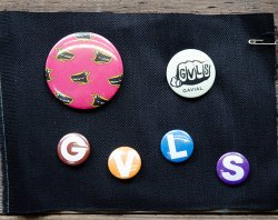 [ GAVIAL ]  缶バッジセット /Can badge set A