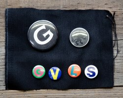 [ GAVIAL ]  缶バッジセット /Can badge set C