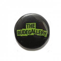 [ RUDE GALLERY ] カンバッジ -ロゴ- / CAN BADGE -  LOGO (25mm)