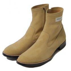 [ RUDE GALLERY ] サイドジップブーツ / SIDE ZIP BOOTS (beige)