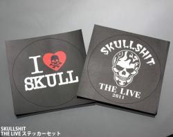 [ skullshit ] THE LIVE ステッカーセット