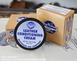 [ BUZZ RICKSON's ] ORIGINAL LEATHER CONDITIONING CREAM