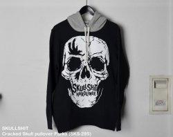 [ SKULLSHIT ]  Cracked Skull pullover Parka (SKS-285)
