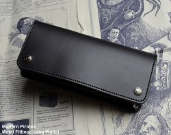 [ Modern Pirates ] Metal Fittings Long Wallet