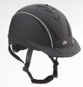 Ovation デラックスヘルメット  ブラック&ライン