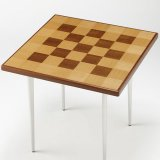 【テーブル板】高級天然木「モザイク」四角型
