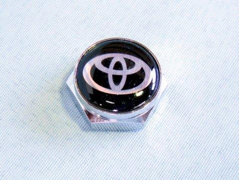 トヨタ ロゴ入りナンバープレートボルトカバー