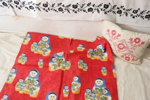 マトリョーシカのカーテン