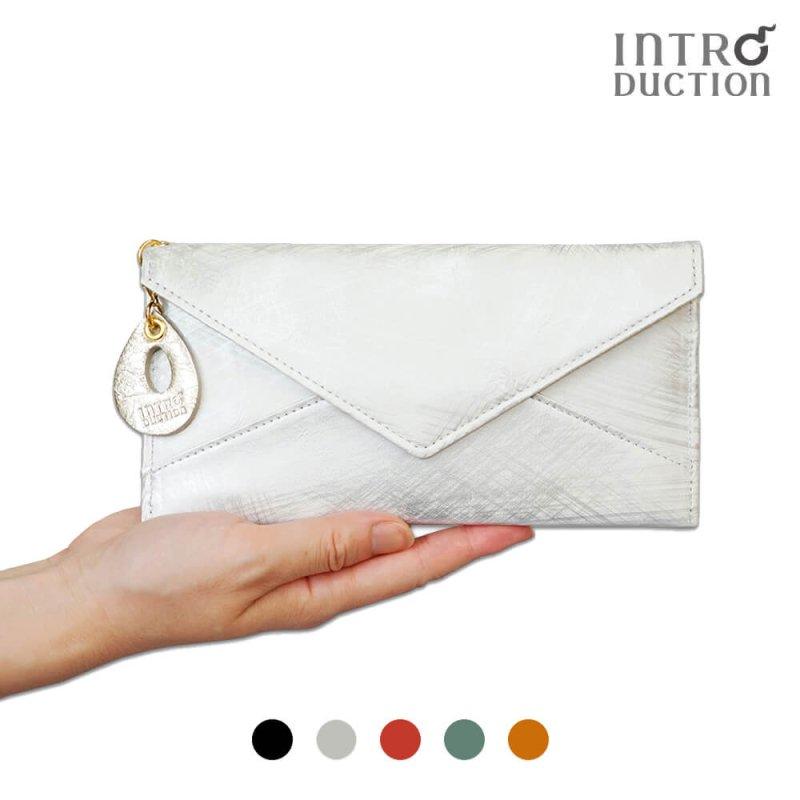 ハケムラレザーの薄い長財布