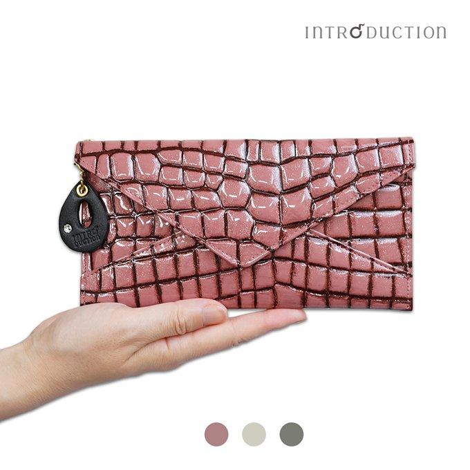 Arizona薄マチ長財布 / レディース(本革キップ使用 アリゾナ 薄型長財布)