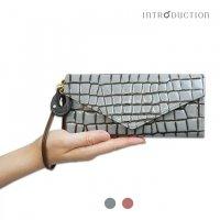 Arizonaボックス型長財布 / レディース(本革キップ使用 アリゾナ ギャルソン式長財布)