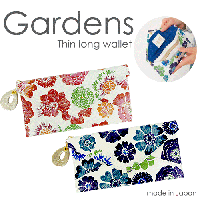 <img class='new_mark_img1' src='https://img.shop-pro.jp/img/new/icons1.gif' style='border:none;display:inline;margin:0px;padding:0px;width:auto;' />ガーデンズGardens 薄マチ長財布 / レディース(本革ウォレット)