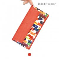 ポケットウォレットL <ペコ> 薄さ3mm 極薄長財布