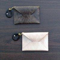antique カードケース / レディース(本革 アンティーク)