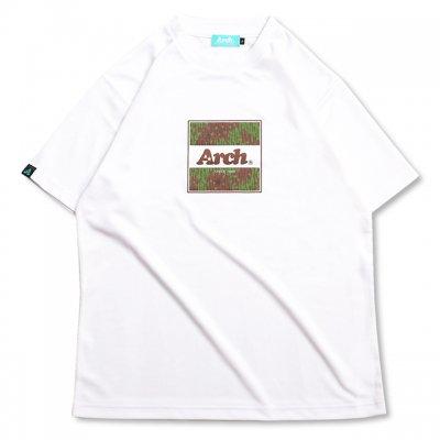 バスケ レインカモ ボックスロゴ Tシャツ ホワイト