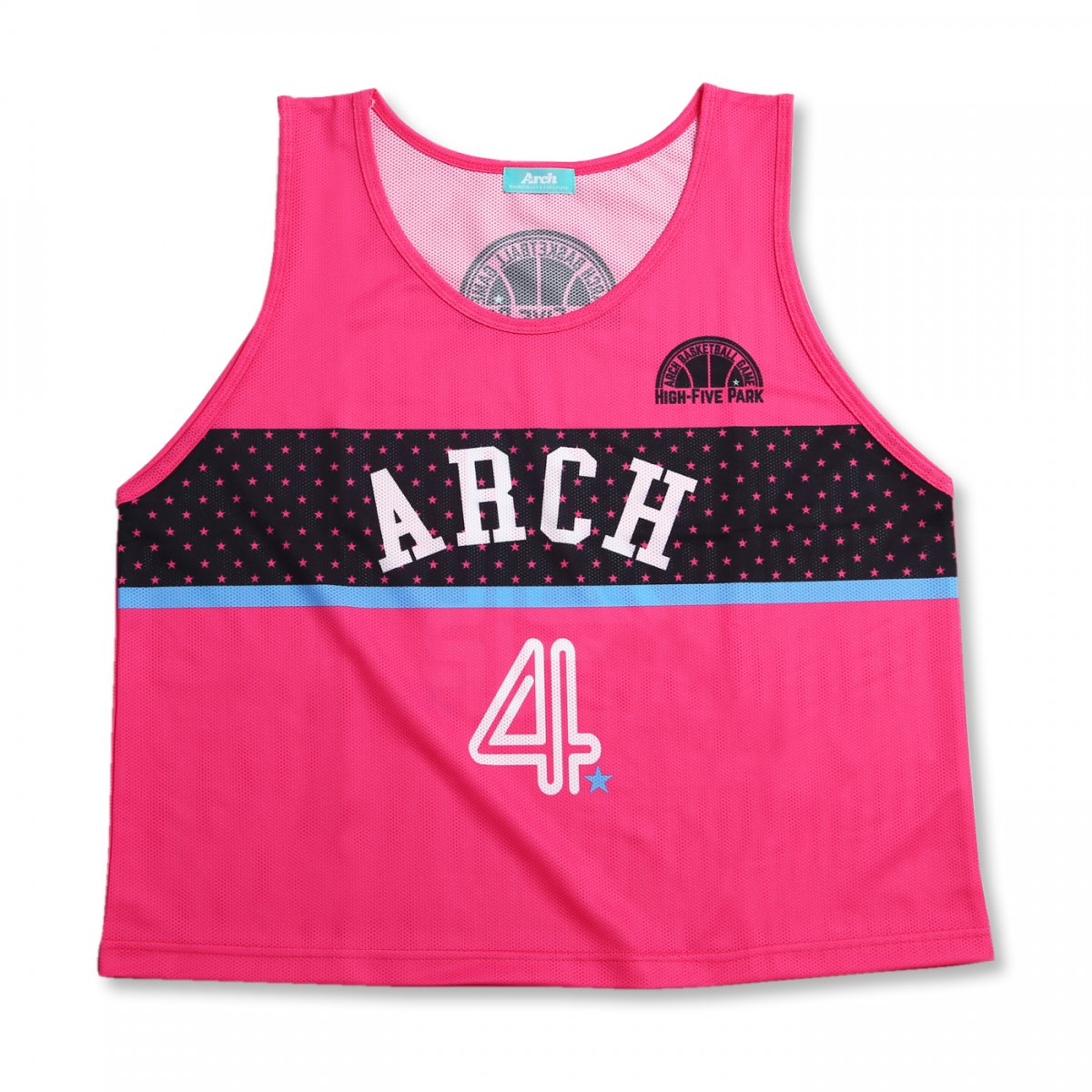 HIGH-FIVE PARK game bibs【pink】(10枚set)