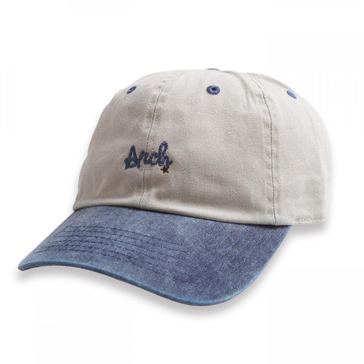 rope logo cap【sand/navy】
