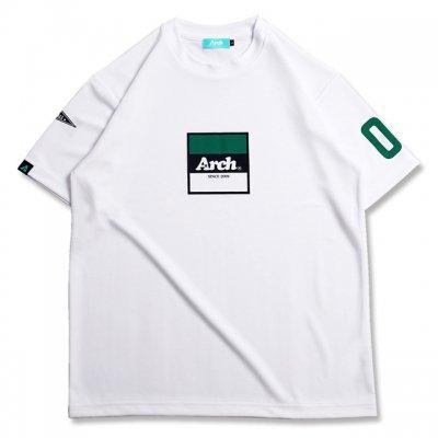 バスケ アーチ トリコロゴ Tシャツ ホワイト