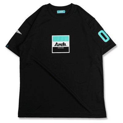 バスケ アーチ トリコロゴ Tシャツ ブラック