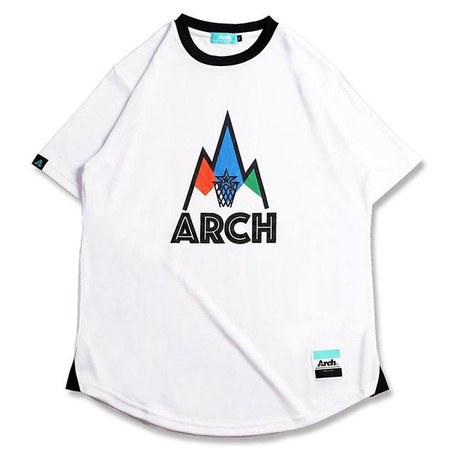 バスケ アーチ ゴーアラウンド Tシャツ ホワイト