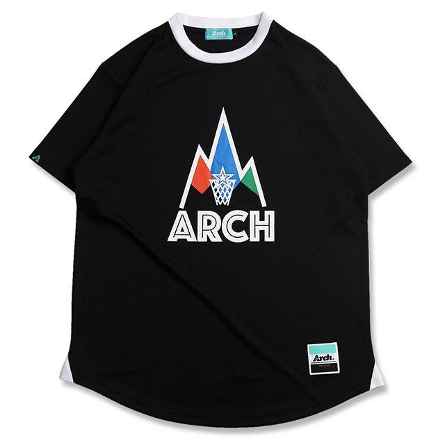 バスケ アーチ ゴーアラウンド Tシャツ ブラック