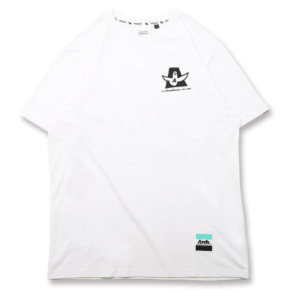 バスケ マークゴンザレス x アーチ  バスケットボーラーズTシャツ ホワイト