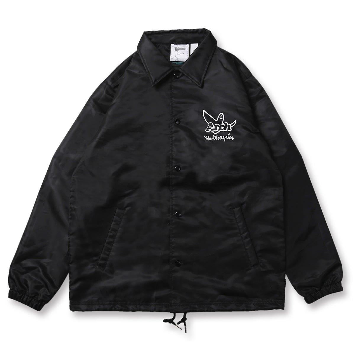 Mark Gonzales x Arch ball MG coach jacket【black】