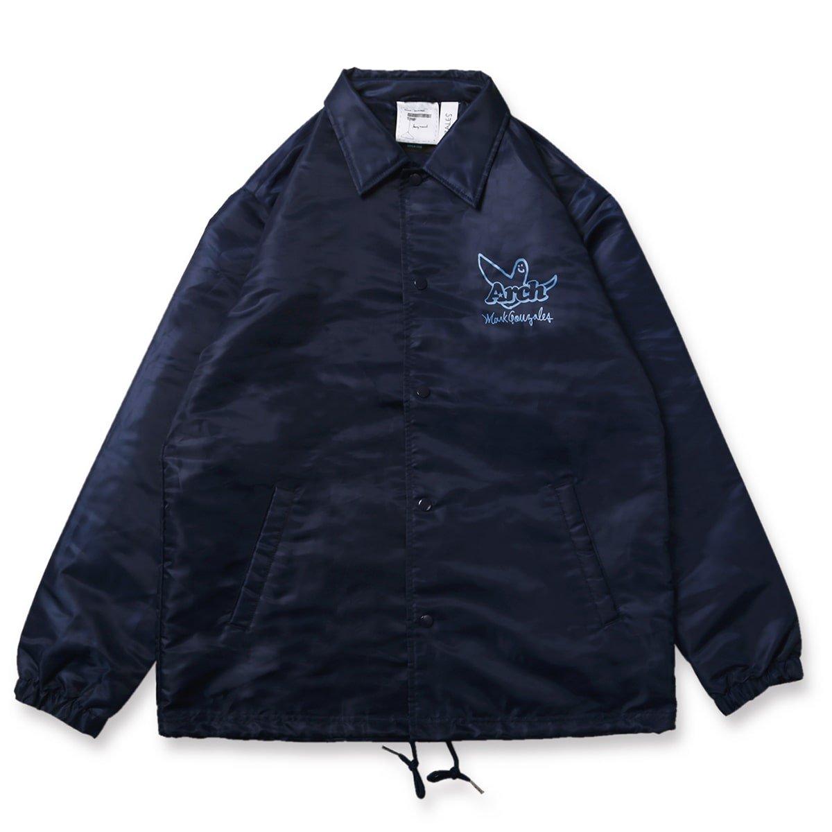Mark Gonzales x Arch ball MG coach jacket【navy】